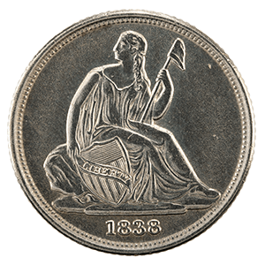 Seated Liberty Dime