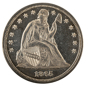 Seated Liberty Dollar (1840 - 1873)