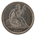 Seated Liberty Half Dime (1837 - 1873)