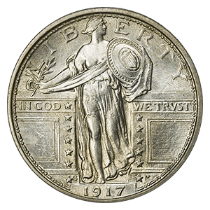 Standing Liberty Quarter (Type I)