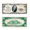1929 $10 First National Bank of Louisville Kentucky National Bank Note