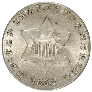 Three Cent Silver