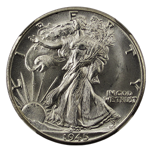 Walking Liberty Half Dollar (1916 - 1947)